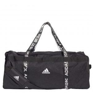 Adidas Training 4ATHLTS Duffel L black/black/white Weekendtas