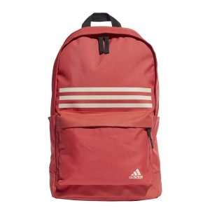 Adidas Training Classic 3-Stripes Pocket Backpack red / black backpack