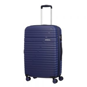 American Tourister Aero Racer Spinner 68 Expandable nocturne blue Harde Koffer