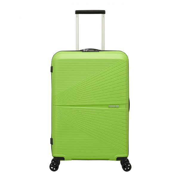 American Tourister Airconic Spinner 67 acid green Harde Koffer