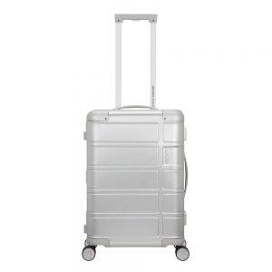 American Tourister Alumo Spinner 55 silver Harde Koffer