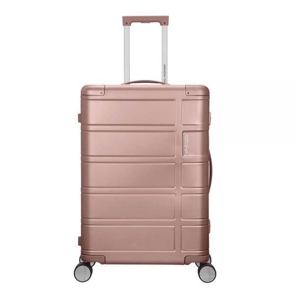 American Tourister Alumo Spinner 67 rose Harde Koffer