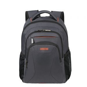 "American Tourister At Work Laptop Backpack 13.3""-14.1"" grey/orange backpack"