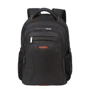 """American Tourister At Work Laptop Backpack 15.6"""" black/orange backpack"""