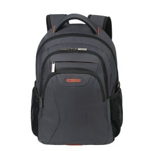 "American Tourister At Work Laptop Backpack 15.6"" grey/orange backpack"