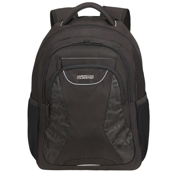 American Tourister At Work Laptop Backpack 15.6'' Print Tag black print backpack