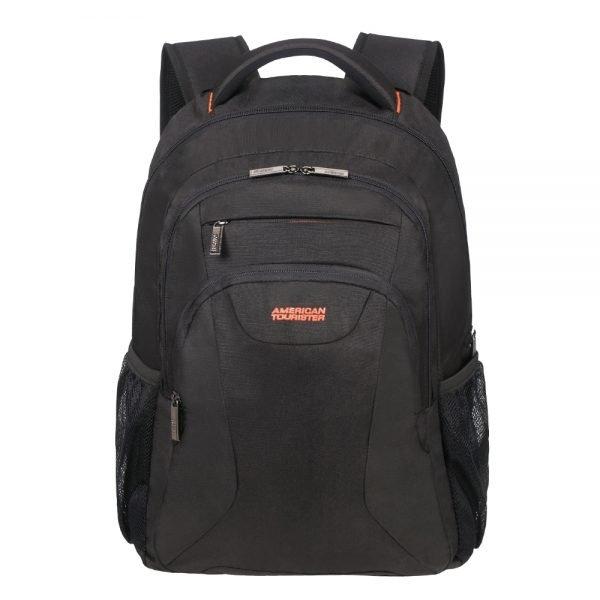 """American Tourister At Work Laptop Backpack 17.3"""" black/orange backpack"""