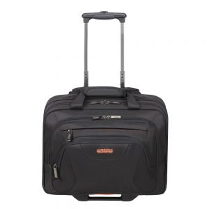"American Tourister At Work Rolling Tote 15.6"" black/orange Handbagage koffer Trolley"
