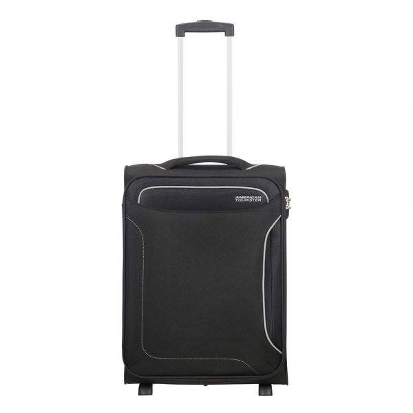 American Tourister Holiday Heat Upright 55 black Zachte koffer