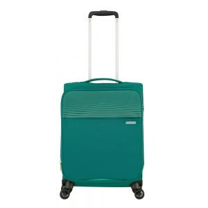 American Tourister Lite Ray Spinner 55 Expandable forest green Zachte koffer