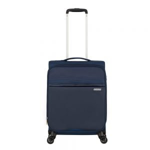 American Tourister Lite Ray Spinner 55 Expandable midnight navy Zachte koffer