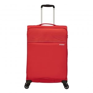 American Tourister Lite Ray Spinner 69 chili red Zachte koffer