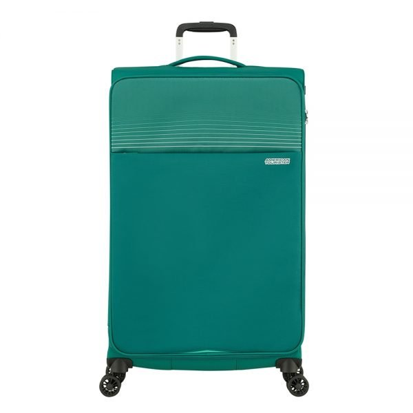 American Tourister Lite Ray Spinner 81 forest green Zachte koffer