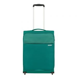 American Tourister Lite Ray Upright 55 forest green Zachte koffer