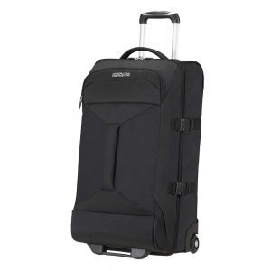 American Tourister Road Quest 2 Compartments Duffle Wheels M solid black Reistas
