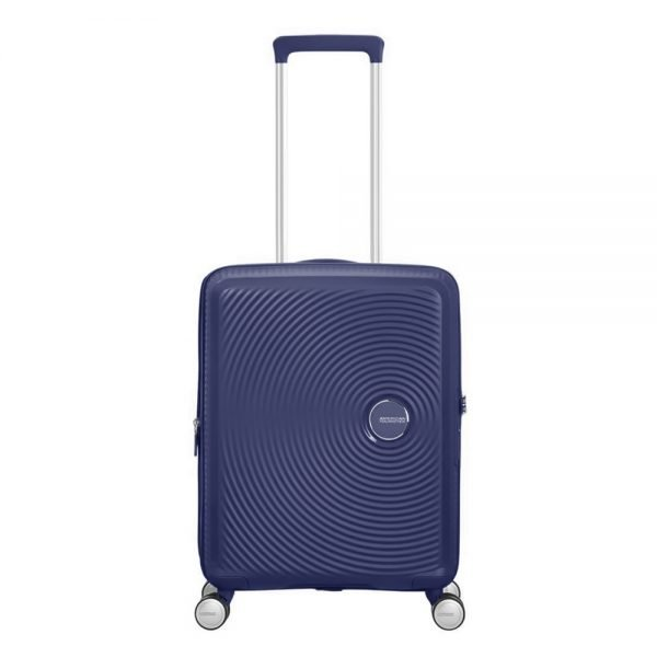 American Tourister Soundbox Spinner 55 Expandable midnight navy Harde Koffer