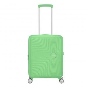 American Tourister Soundbox Spinner 55 Expandable spring green Harde Koffer