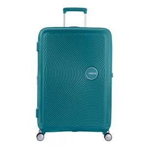 American Tourister Soundbox Spinner 77 Expandable jade green Harde Koffer
