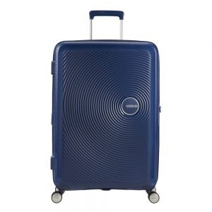 American Tourister Soundbox Spinner 77 Expandable midnight navy Harde Koffer