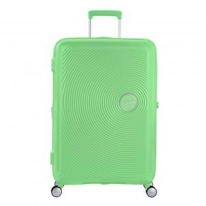 American Tourister Soundbox Spinner 77 Expandable spring green Harde Koffer