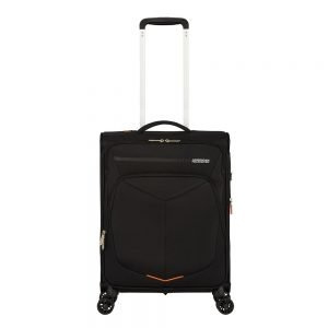 American Tourister Summerfunk Spinner 55 Expandable black Zachte koffer