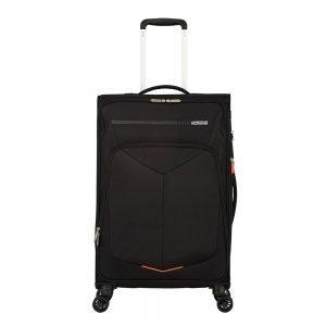 American Tourister Summerfunk Spinner 67 Expandable black Zachte koffer