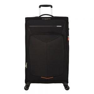 American Tourister Summerfunk Spinner 79 Expandable black Zachte koffer