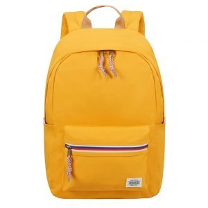 American Tourister Upbeat Backpack Zip yellow backpack