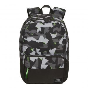 American Tourister Urban Groove Lifestyle Backpack 1 Print camo/acid green backpack