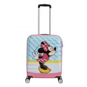 American Tourister Wavebreaker Disney Spinner 55 minnie pink kiss Harde Koffer