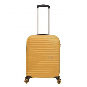 American Tourister Wavetwister Spinner 55 sunset yellow Harde Koffer