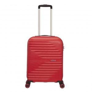 American Tourister Wavetwister Spinner 55 vivid red Harde Koffer