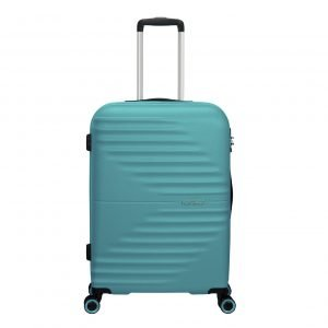 American Tourister Wavetwister Spinner 66 aqua turquoise Harde Koffer