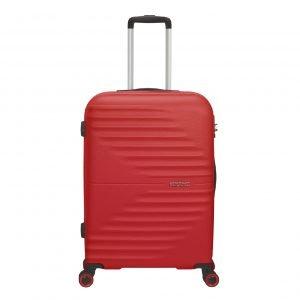 American Tourister Wavetwister Spinner 66 vivid red Harde Koffer