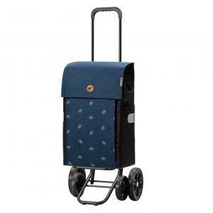 Andersen Quattro Boodschappentrolley Ando blue Trolley
