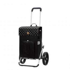 Andersen Royal Boodschappentrolley Malit black Trolley