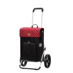Andersen Royal Boodschappentrolley Malit red Trolley