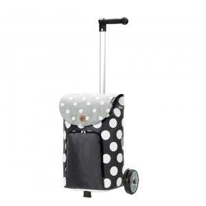 Andersen Unus Boodschappentrolley Dots grey Trolley
