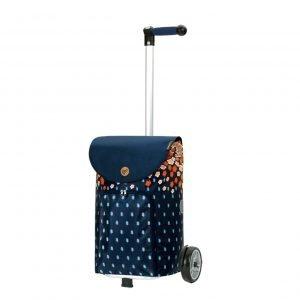 Andersen Unus Boodschappentrolley Lily orange Trolley