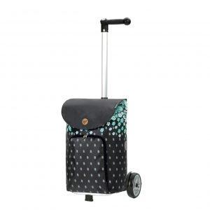 Andersen Unus Boodschappentrolley Lily turquoise Trolley