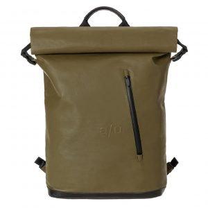 """Aunts & Uncles Japan Matsuyama Backpack 16"""" olive backpack"""
