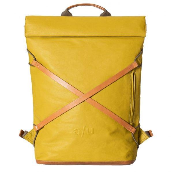 """Aunts & Uncles Japan Osaka Backpack 15"""" golden verde backpack"""