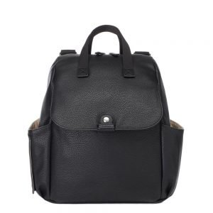 Babymel Robyn Convertible Backpack faux leather black Luiertas