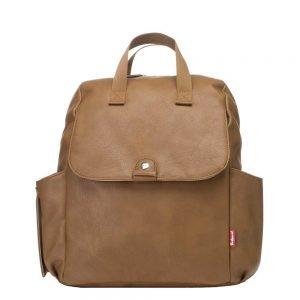 Babymel Robyn Convertible Backpack tan Luiertas