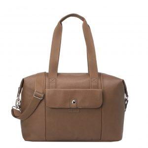 Babymel Stef Vegan Leather Hospital Bag tan Luiertas