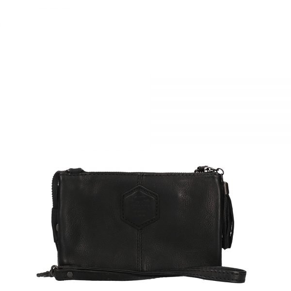 Bear Design Callisto Pelle Alessia Clutch black Damestas