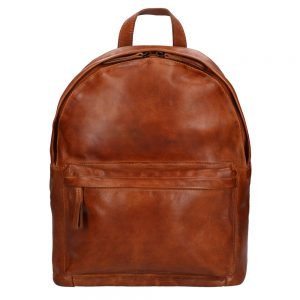 Bear Design Cow Lavato Backpack cognac2 Damestas