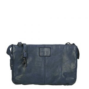 Bear Design Cow Lavato Clutch blue Damestas
