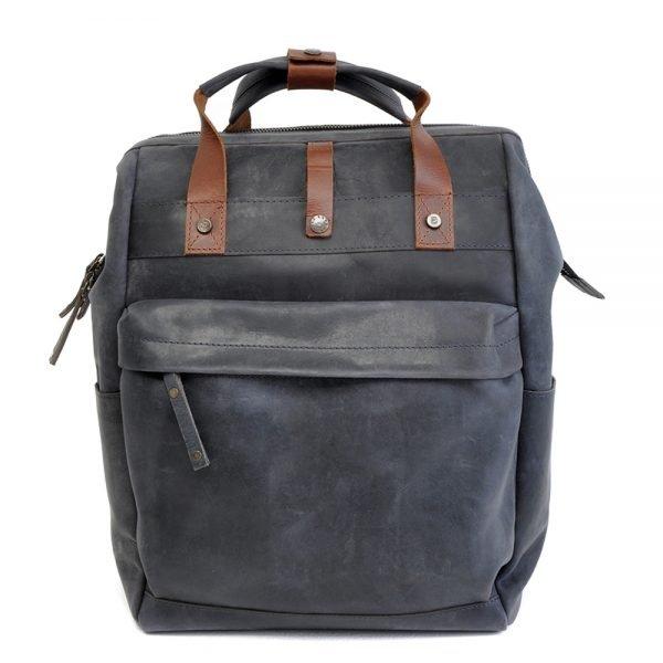 Berba Ruvido Laptop Rugzak navy backpack