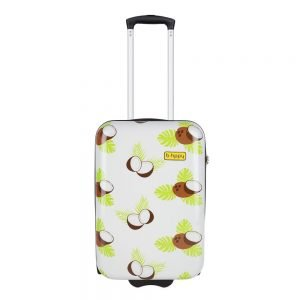 Bhppy Crazy Coco Trolley 55 white Harde Koffer